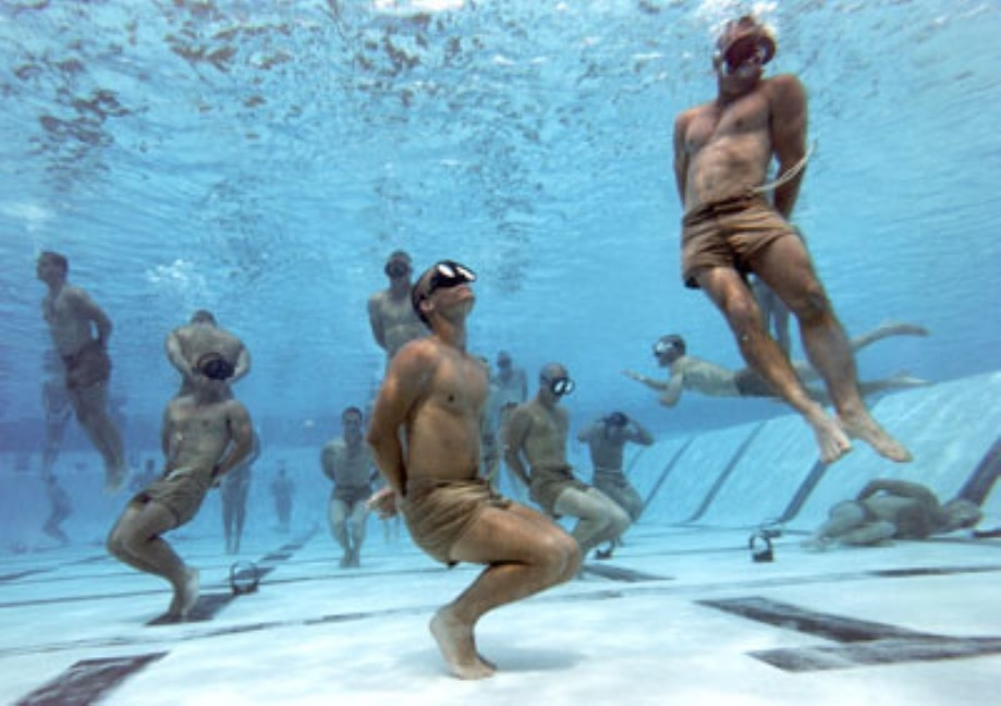 Article image: US Navy Seals resilience training