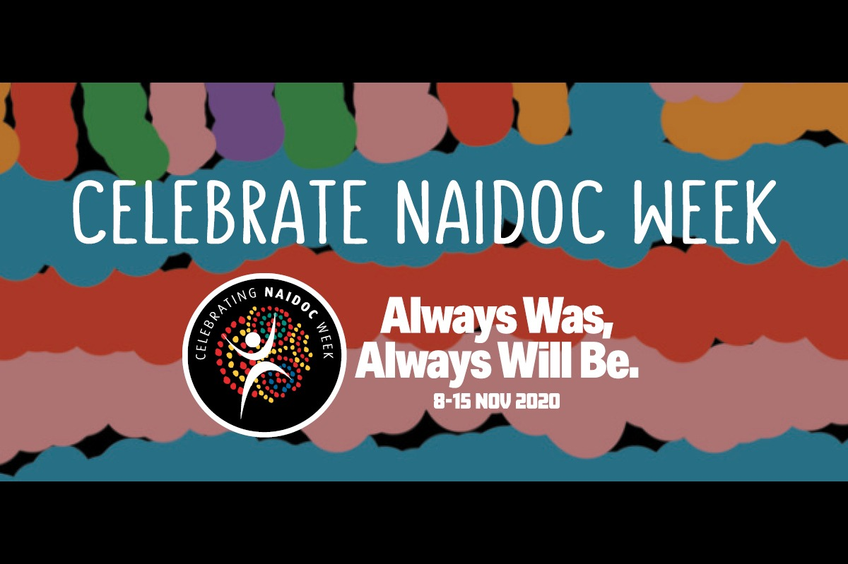 Observing or marking. Rather than celebrating. NAIDOC week as a non-indigenous Australian.