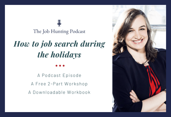 Article image: How to job search during the holidays - Renata Bernarde
