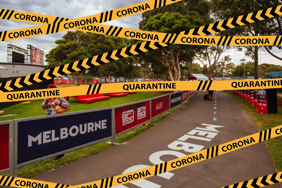 Article image: Grand Prix cancelled coronavirus