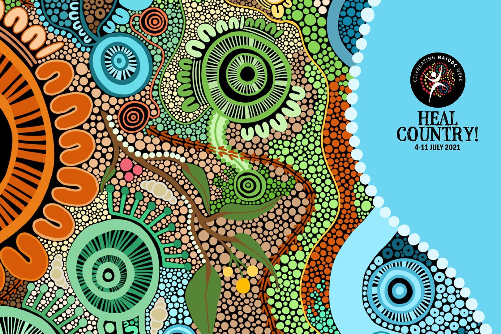 Article image: NAIDOC 2021 Heal Country